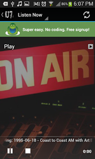 U7 Radio- screenshot thumbnail