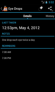 Medi Droid Pill Reminder - screenshot thumbnail