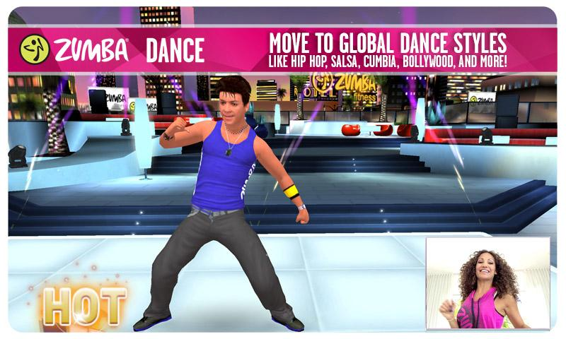 Zumba Dance - screenshot