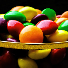 A Flute of Skittles by Adele Price - Food & Drink Candy & Dessert (  )
