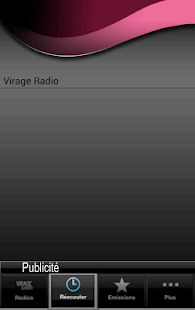 Virage Radio - screenshot thumbnail