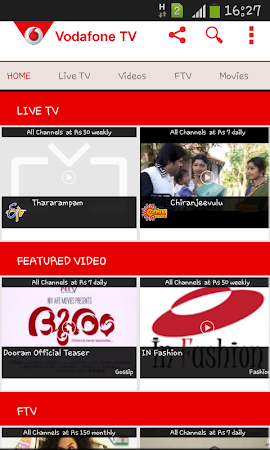 Vodafone Mobile TV Live TV 30 screenshot 296267