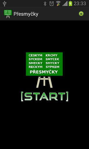 Přesmyčky Slovni Kvíz v české