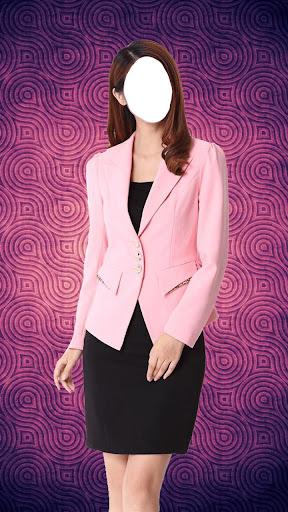 女性時尚套裝照片拼貼