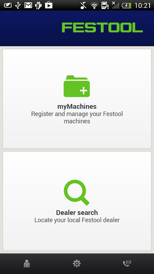 Festool - screenshot