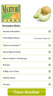 HarvestMark Food Traceability - screenshot thumbnail