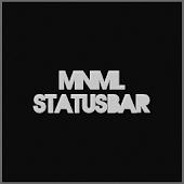 MNML StatusBar Theme CM10/AOKP