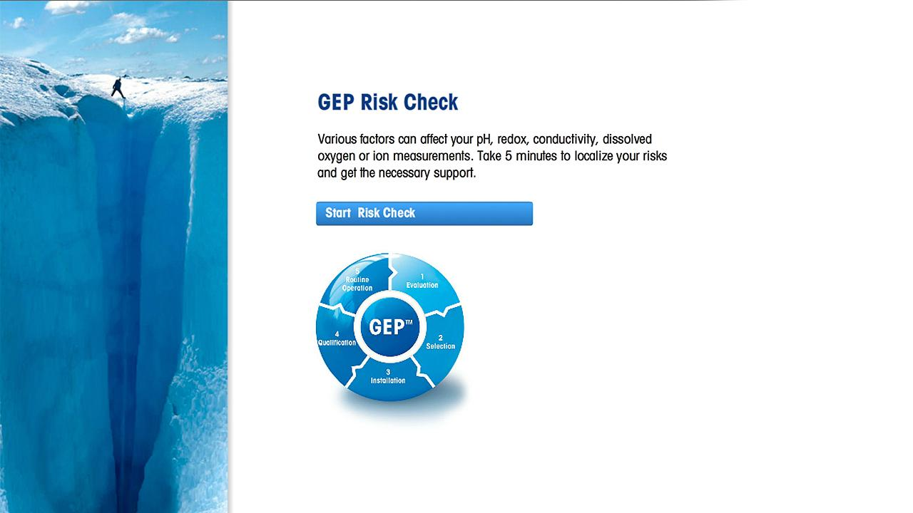 GEP Risk Check - screenshot