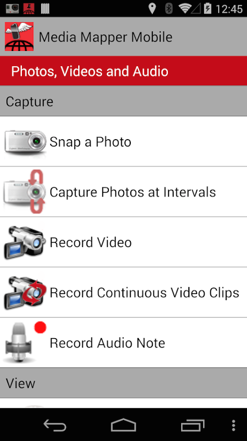 MediaMapper Mobile Trial- screenshot