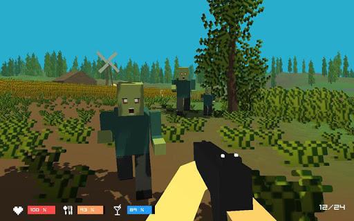 Pixel Wars Z:Gun Day Night