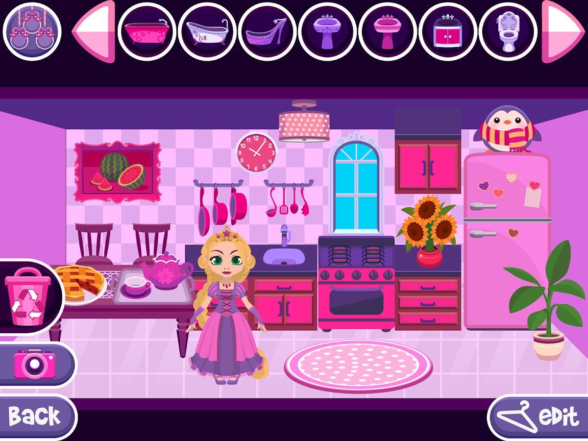 My Princess Castle Doll And Home Decoration Game