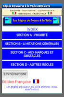 Screenshot of Règles de Course à la Voile