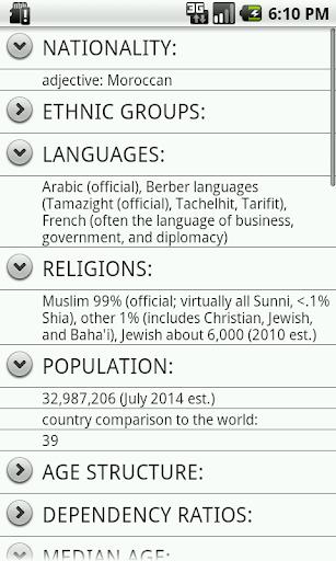 【免費個人化App】Morocco Facts-APP點子