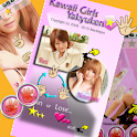 Kawaii Girls Yakyuken logo