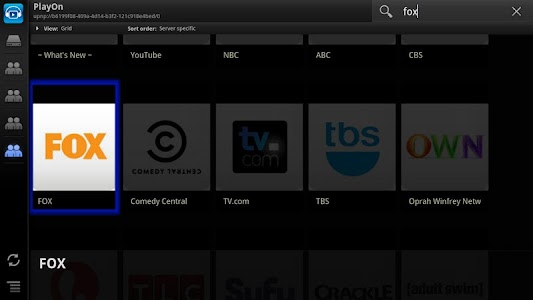 ViMu Media Player for TV screenshot 1