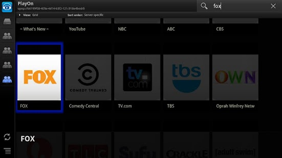 ViMu Player for Google TV - screenshot thumbnail