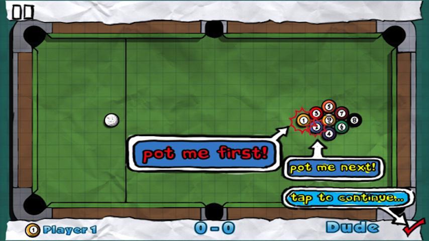 Doodle Pool HD- screenshot