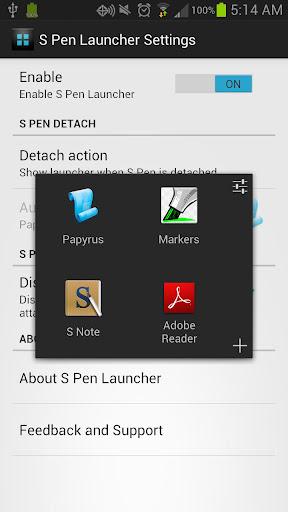 S Pen Launcher