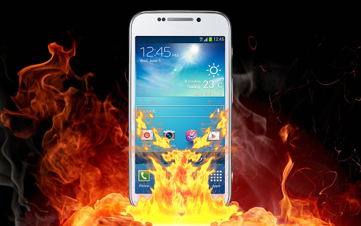 Burn Screen Prank