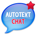 Auto Text (for bbm status) icon