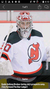 NJ.com: New Jersey Devils News- screenshot thumbnail