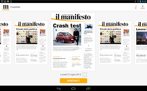 il manifesto- screenshot thumbnail