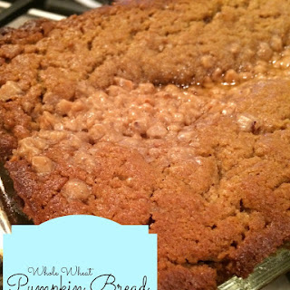 Toffee Chip Pumpkin Bread