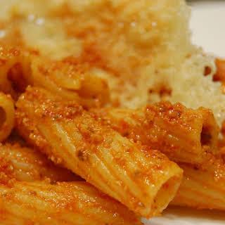 Red Pesto Pasta.