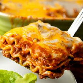 Mexican Lasagna by Campbell's Kitchen.