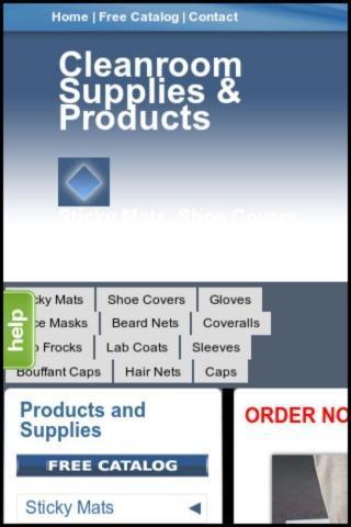 【免費商業App】Cleanroom Supplies and Apparel-APP點子