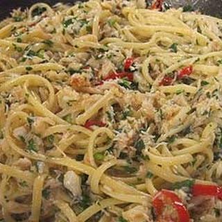 Crab And Chilli Linguine