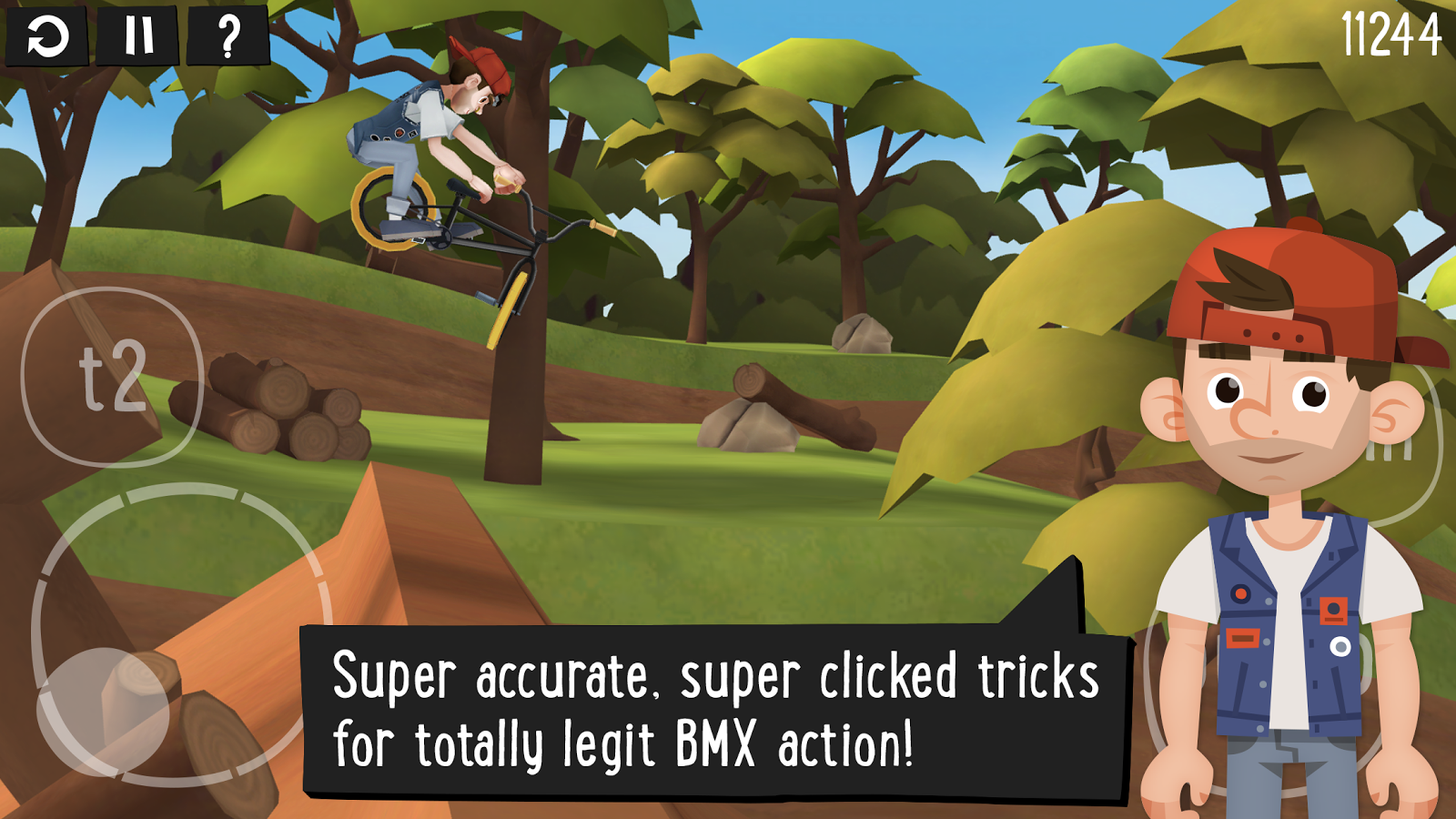 Pumped BMX 2- screenshot