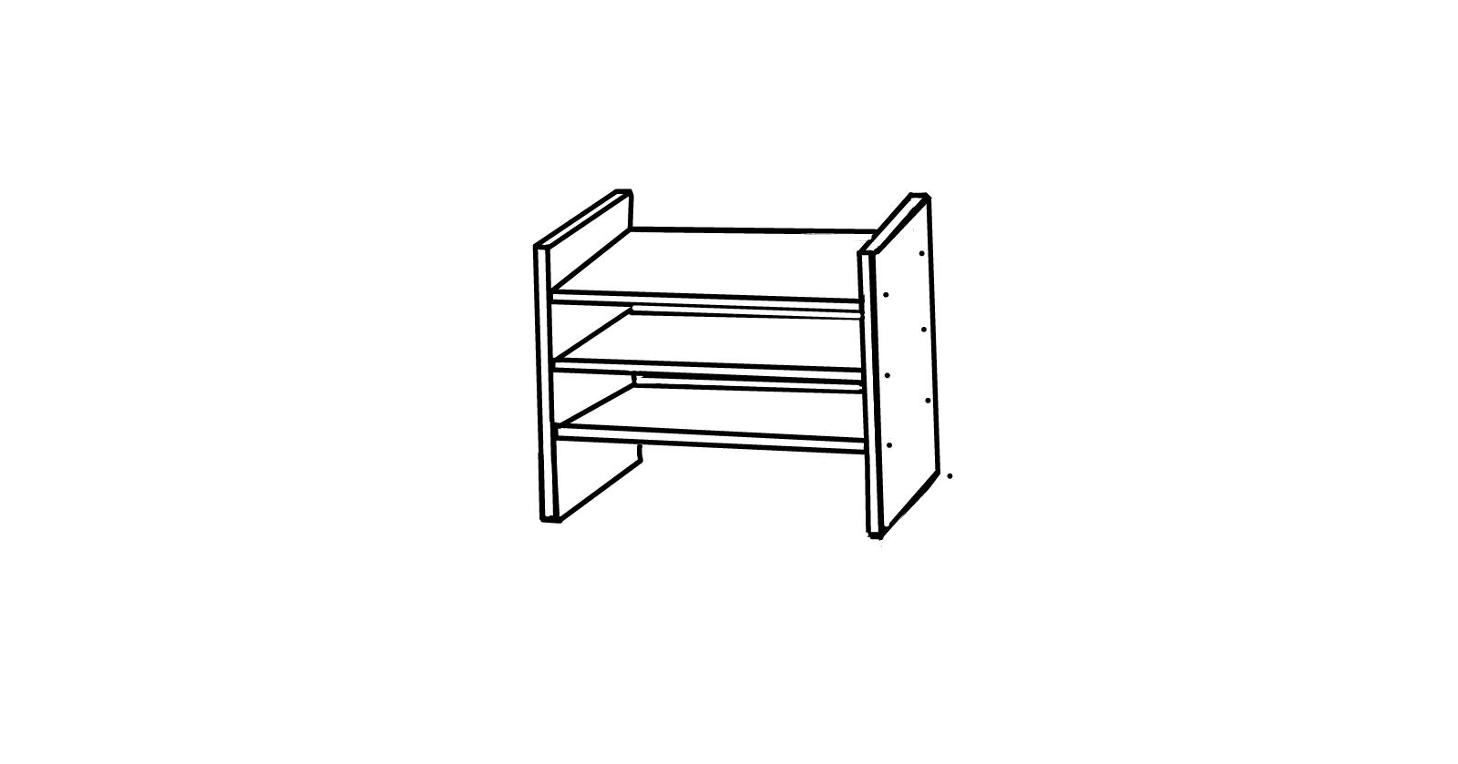 Shelf Portrait Drawings SketchPort