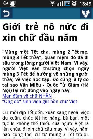 Đọc báo Việt- tin tuc, doc bao- screenshot