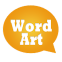 WordArt Chat Sticker for C icon
