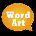 WordArt Chat Sticker for C