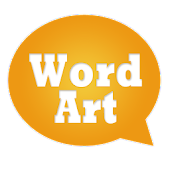 WordArt Chat Sticker for C