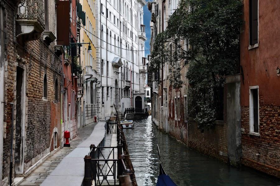 Narrow canal by Almas Bavcic - City,  Street & Park  Street Scenes