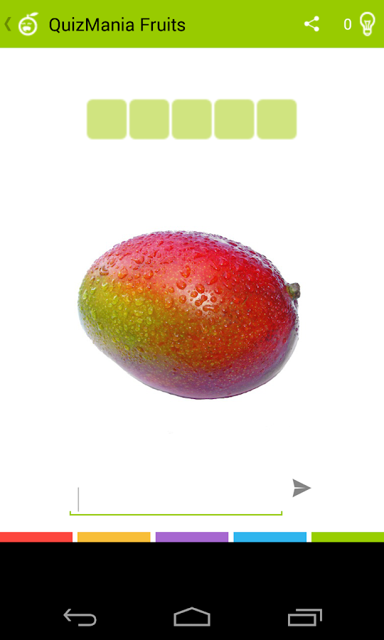 Quiz: QuizMania Fruits - screenshot