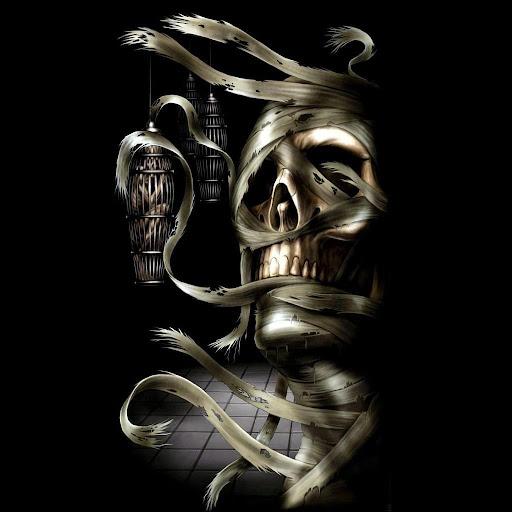 Skulls Death Live Wallpapers