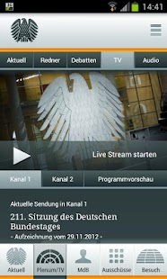Deutscher Bundestag- screenshot thumbnail