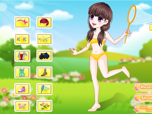 女の子の蝶のためのゲーム