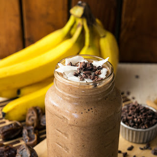 Cacao Banana Recovery Smoothie.