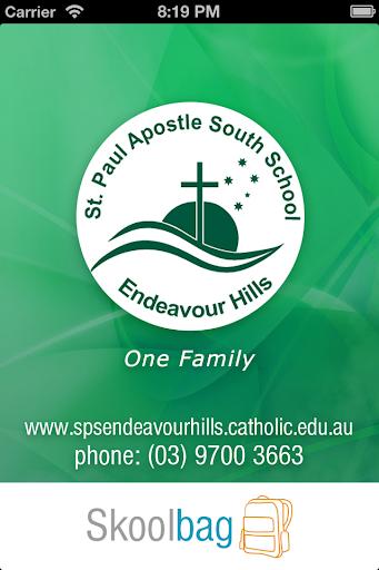 St Paul Apostle South Skoolbag