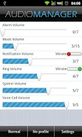 Screenshot of GVolume Pro - Audio Manager