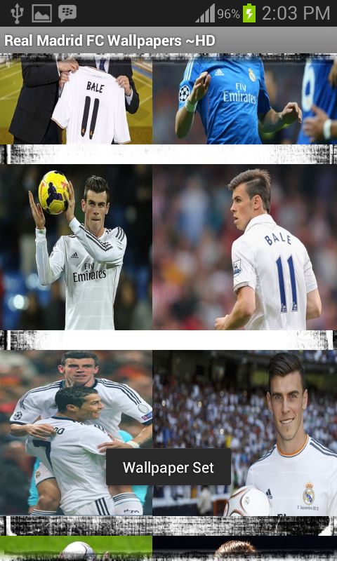 Real Madrid Wallpapers ~ HD - screenshot