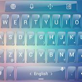 Theme TouchPal Glass Blur