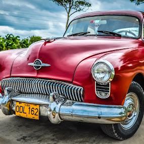 Early 50's Oldsmobile by Jack Brittain - Transportation Automobiles ( colour, car, fav10, holguin, oldsmobile, cuba,  )