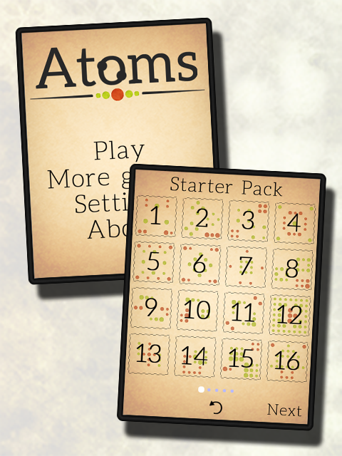 Atoms - screenshot