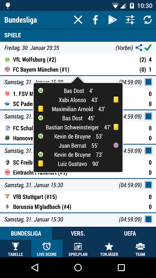 Bundesliga Soccer - screenshot